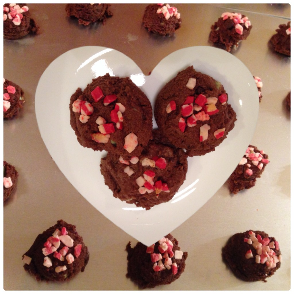 cookies choc peppermint
