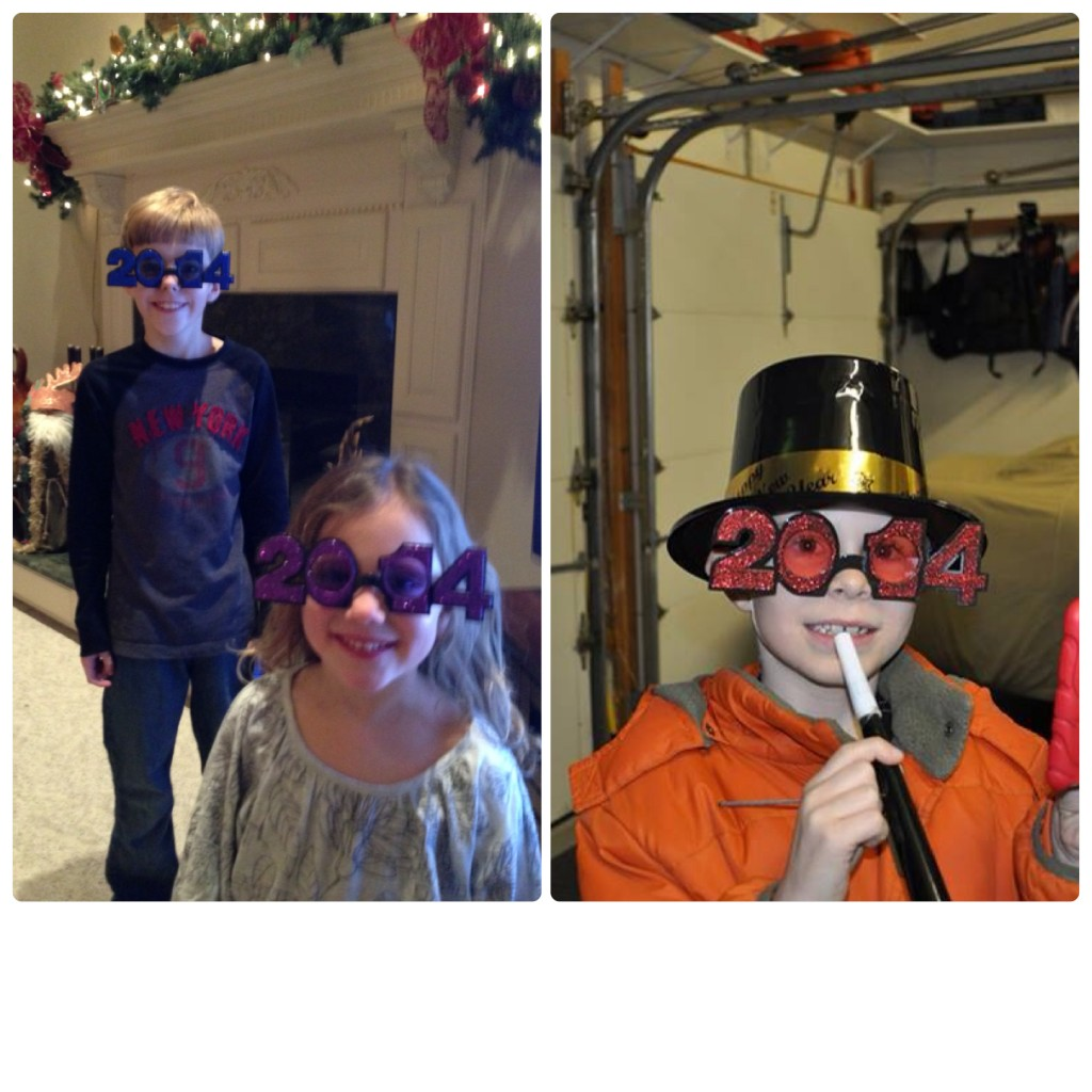 NYE kids hats