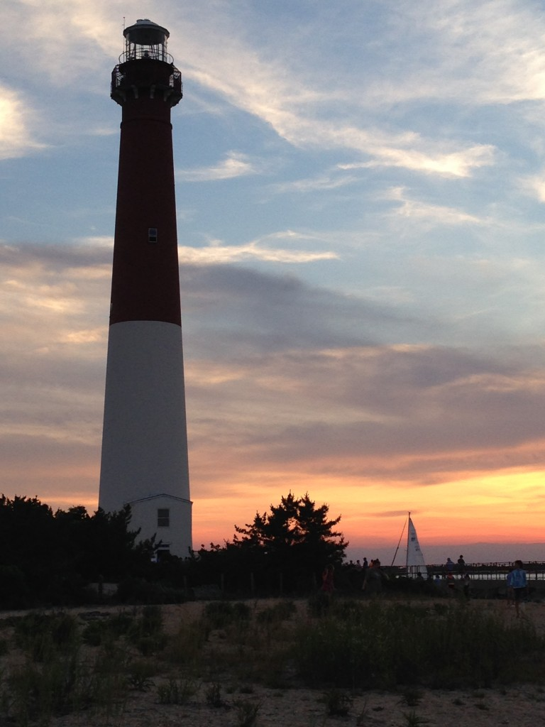 lighthouse sunset 1