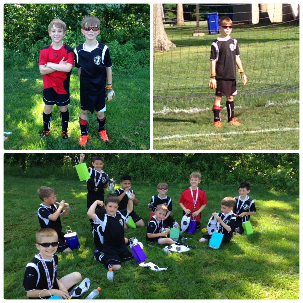 soccer fun collage