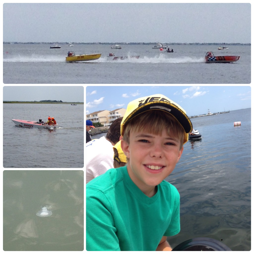 boat races collage
