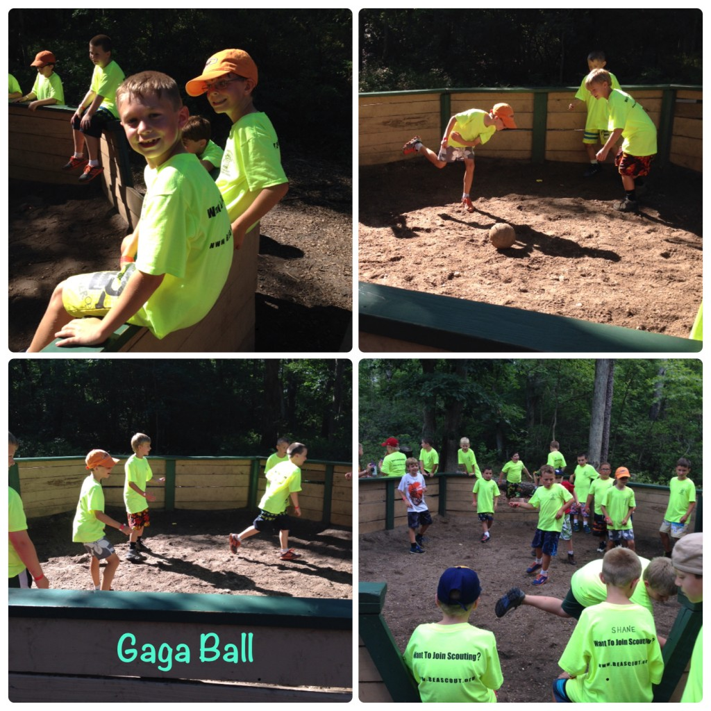 gaga ball collage