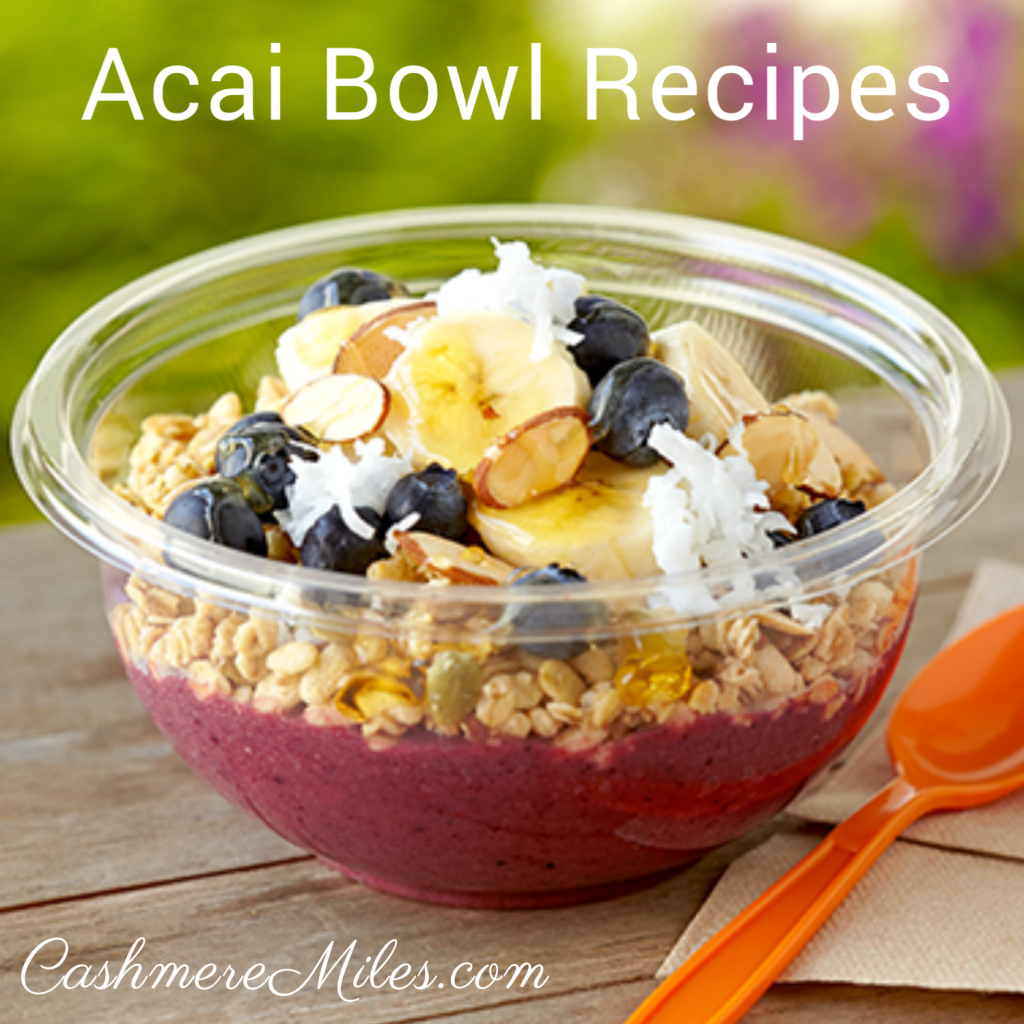 Acai bowl recipes