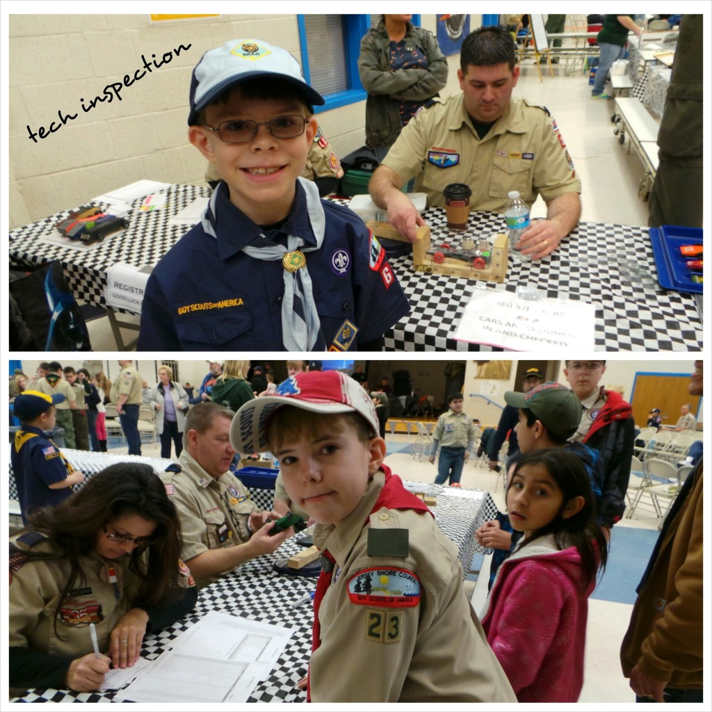 pinewood derby registration