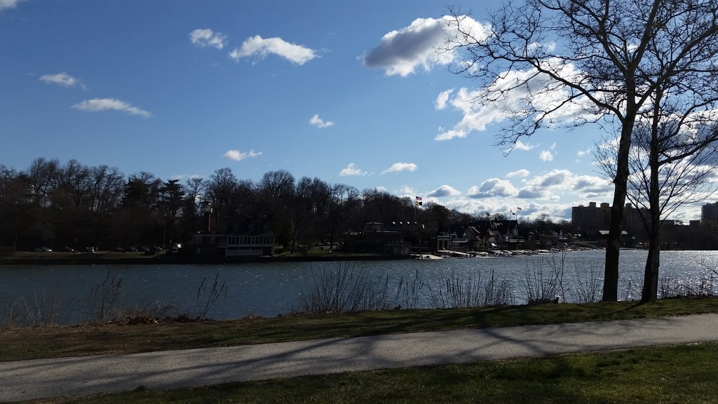 Boathouse row philly