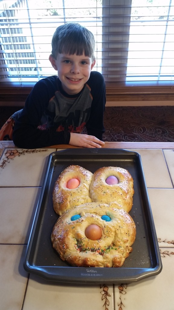 Dane easter bread